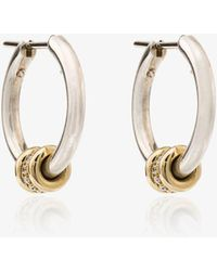 Spinelli Kilcollin - Silver Ara Hoop Earrings - Lyst
