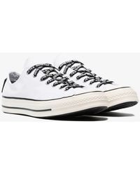 79a83b06a966 Lyst - Converse Deckstar 67 Slip On Sneakers in Natural for Men