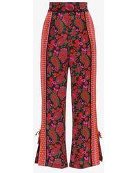 A Peace Treaty - Printed Silk Trousers - Lyst