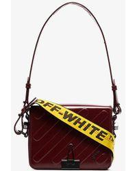 Off-White c/o Virgil Abloh - Red Mini Padded Leather Shoulder Bag - Lyst