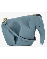 Loewe - Mini Leather Elephant Shoulder Bag - Lyst