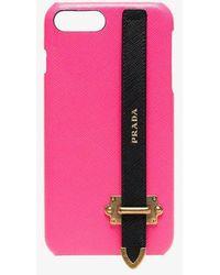 Prada - Iphone 8 Plus Cover - Lyst