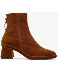 Reike Nen - Ring Slim Ankle Boots - Lyst
