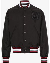 Givenchy | Logo Back Bomber Jacket | Lyst