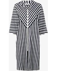 Araks - Margot Stripe Hooded Cover-up - Lyst