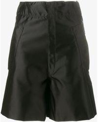 Miu Miu - - Bermuda Shorts - Women - Polyamide/viscose - 40 - Lyst