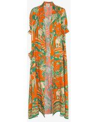 Chufy - Desta Linen Robe - Lyst