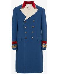 Gucci - Wool Cashmere Coat - Lyst