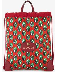 Gucci - Gg Wallpaper Drawstring Backpack - Lyst