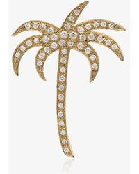 Ileana Makri - Diamond Palm Pendant Necklace - Lyst
