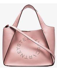 Stella McCartney - Pink Logo Tote Bag - Lyst