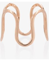 Sabine G | Rose Gold Wiggly Ring | Lyst