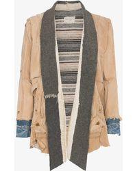 Greg Lauren - Carhartt Blanket Stripe Kimono Jacket - Lyst