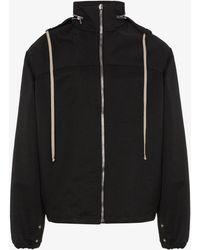 Rick Owens - Hooded Zip Jacket - Lyst