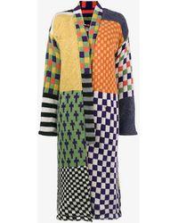 The Elder Statesman - Oversized Patchwork Cashmere Robe - Lyst