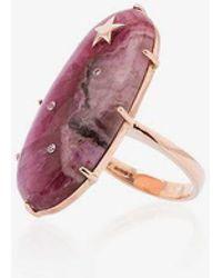 Andrea Fohrman - Calcite Oval Diamond Ring - Lyst