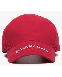 Balenciaga - Logo Visor Cap - Lyst