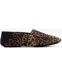 Newbark - Jacks Leopard Print Loafers - Lyst