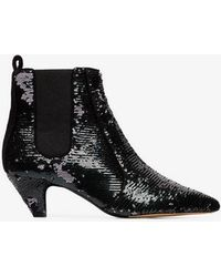 Tabitha Simmons - Effie 50 Sequin Ankle Boots - Lyst