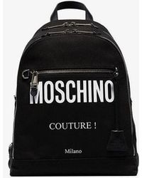 7c2310f91d Moschino Smiley Face Backpack - For Men in Black for Men - Lyst
