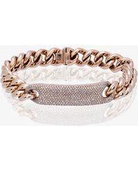 SHAY - Diamond Id Bracelet - Lyst