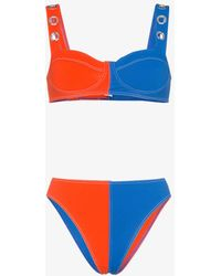 ACK - Ana Due High-leg Bikini - Lyst