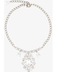 Dolce & Gabbana - Crystal Chandelier Necklace - Lyst