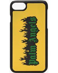 Palm Angels - Burning Logo Iphone 7 Case - Lyst