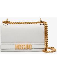 Moschino - Logo Shoulder Bag - Lyst
