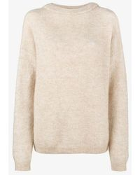 Acne Studios - Dramatic Knitted Jumper - Lyst
