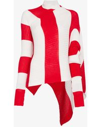 Marques'Almeida - Asymmetric Stripe Jumper - Lyst