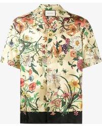 Gucci - Floral Print Shirt - Lyst