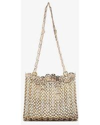 Paco Rabanne - Gold Iconic Chain 1969 Cross Body Bag - Lyst