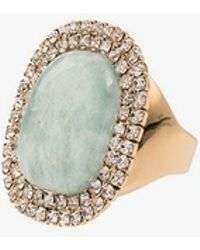 Rosantica - Blue Stone Crystal Ring - Lyst