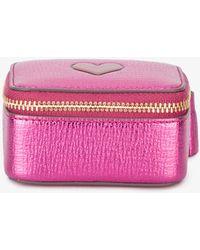 Anya Hindmarch | Pink Metallic Box Purse | Lyst