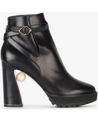 Nicholas Kirkwood - Annabel 105 Boots - Lyst