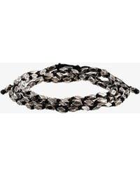 M. Cohen - 4 Layer Tetra Bead Wrap Bracelet - Lyst