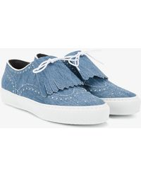 Robert Clergerie - Tolka Fringed Trainers - Lyst