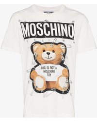 Moschino - Teddy Bear Print T-shirt - Lyst