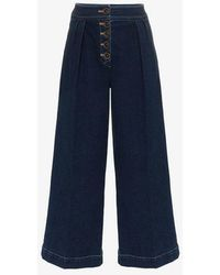Rejina Pyo - High-waisted Wide Leg Jeans - Lyst