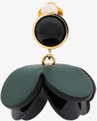 Marni - Leather Flower Earring - Lyst
