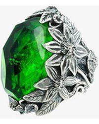 Lyly Erlandsson Green Winter Ring