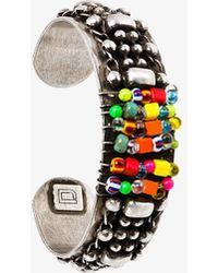 DANNIJO | Beaded Cuff Bracelet | Lyst