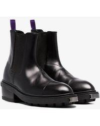 Eytys - Nikita Pull On Leather Boots - Lyst