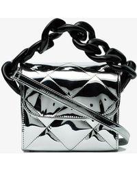 Marques'Almeida - Silver Quilted Chain Box Bag - Lyst