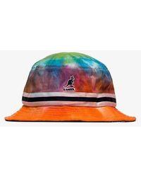 75c84722e63da6 Milkcrate Athletics Black + White Tie-Dye Bucket Hat in Black for ...