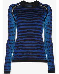 Proenza Schouler - Silk Jacquard Sweater - Lyst