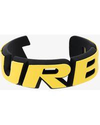 Balenciaga - Turbo Badge Bracelet - Lyst