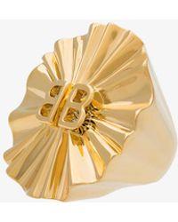 Balenciaga - License Round Fan Ring - Lyst