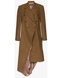 Y. Project - Asymmetric Double Breasted Coat - Lyst